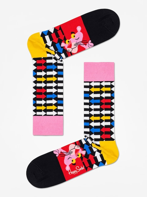 Ponožky Happy Socks Pink Panther Jet Pink (black/multi)
