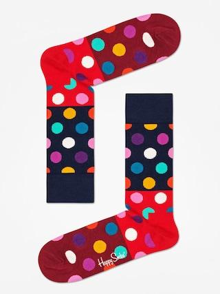 Ponou017eky Happy Socks Big Dot Block (navy/red/maroon)