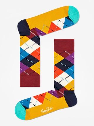 Ponou017eky Happy Socks Argyle (brown/gold/multi)