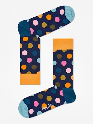 Ponou017eky Happy Socks Big Dot (orange/navy/teal)