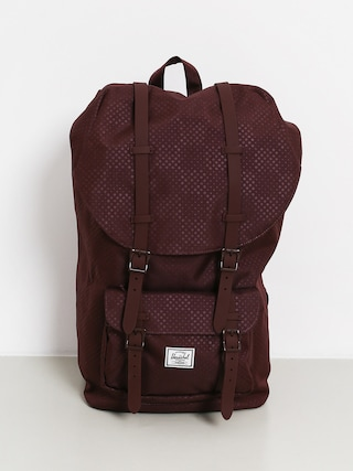 Batoh Herschel Supply Co. Little America (plum dot check)