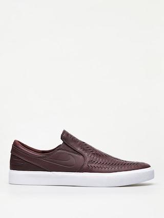 Boty Nike SB Zoom Janoski Slip Rm Crafted (mahogany/mahogany white gum light brown)