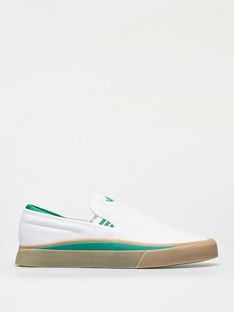 Boty adidas Sabalo Slip (ftwr white/bold green/gum4)