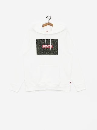 Mikina s kapucí Levi's Graphic Box HD (white)