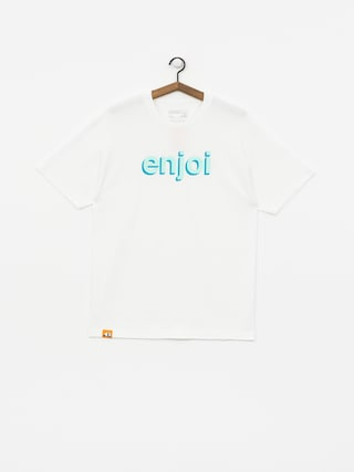 Tričko Enjoi Helvetica Neue (white)
