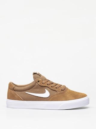 Boty Nike SB Chron Slr (golden beige/white golden beige black)