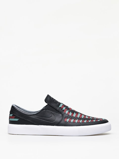 Boty Nike SB Zoom Janoski Slip Rm Crafted (black/black bicoastal team red)
