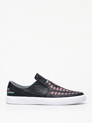 Boty Nike SB Zoom Janoski Slip Rm Crafted (black/black bicoastal team red)