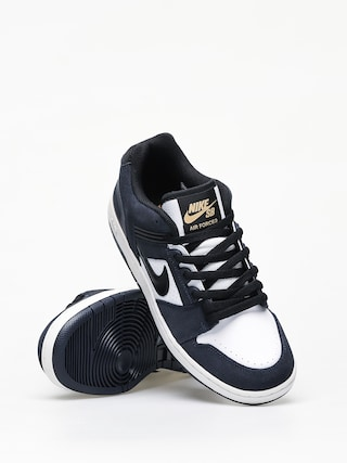 Boty Nike SB Air Force II Low (obsidian/black white celestial gold)