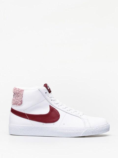Boty Nike SB Zoom Blazer Mid Prm (white/team red)