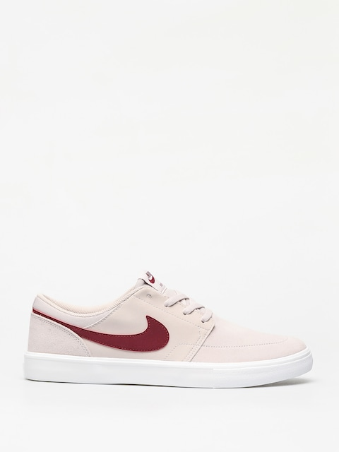 Boty Nike SB Solarsoft Portmore II (desert sand/team red summit white black)
