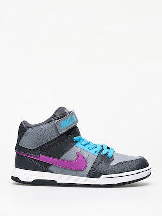 Boty Nike SB Mogan Mid 2 Jr Gs (cool grey/vivid purple blue lagoon)