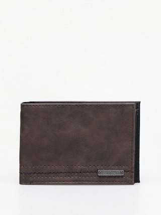 Peněženka Quiksilver Stitchy Vi (chocolate brown)