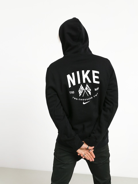 Mikina s kapucí Nike SB Hooded Top HD (black/summit white)