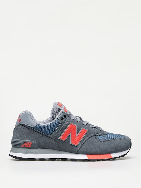 Boty New Balance 574 (grey/blue)