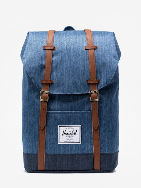 Batoh Herschel Supply Co. Retreat (faded denim/indigo denim)