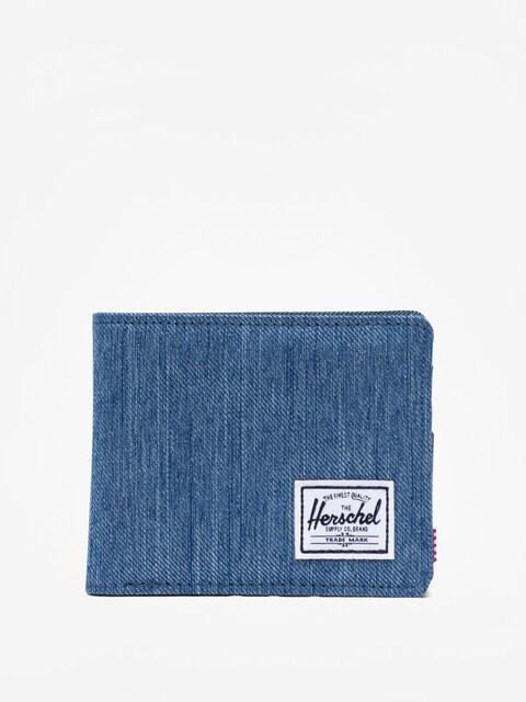 Peněženka Herschel Supply Co. Roy Rfid (faded denim/indigo denim)