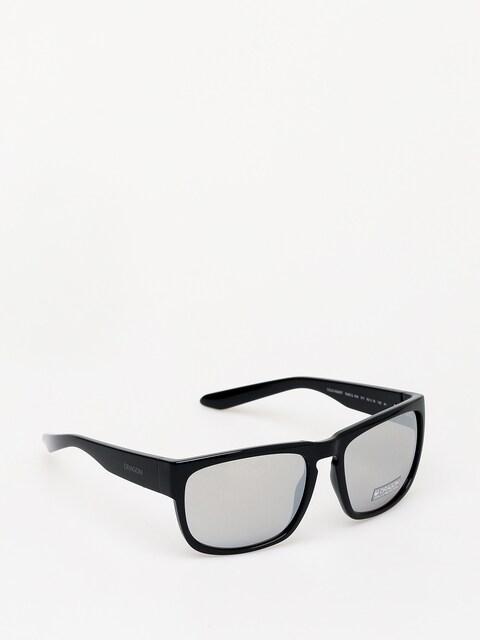 Sluneční brýle Dragon Rune XL (shiny black/silver ion)