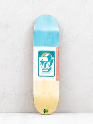 Deska Girl Skateboard Brophy The Totem (blue/natural)
