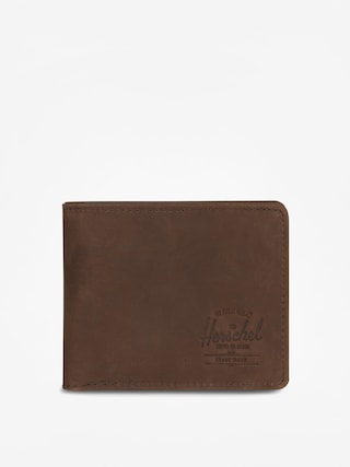 Penu011bu017eenka Herschel Supply Co. Hank Coin Leather Rfid (nubuck brown)