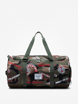 Tau0161ka Herschel Supply Co. Independent Sutton (woodland camo multi independent logo/cypress)