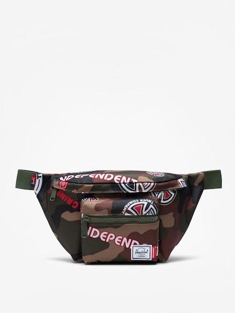 Ledvinka Herschel Supply Co. Independent Seventeen (woodland camo multi independent logo/cypress)