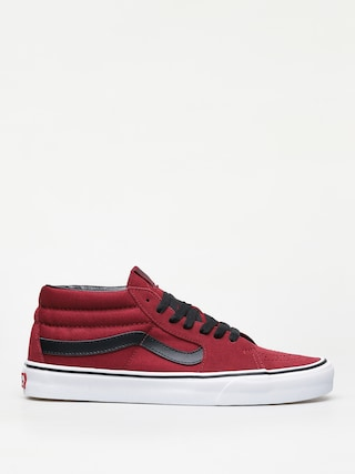 Boty Vans Sk8 Mid (biking red/true white)