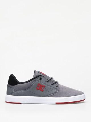 Boty DC Plaza Tc (grey/grey/red)
