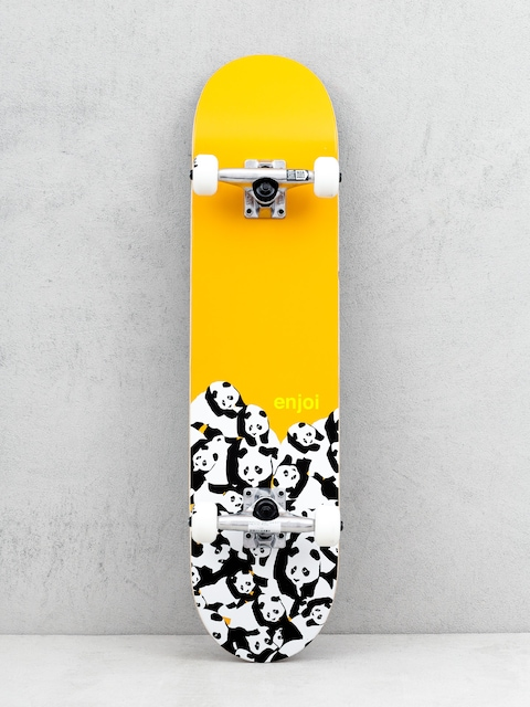 Skateboard Enjoi Panda Pile (orange)