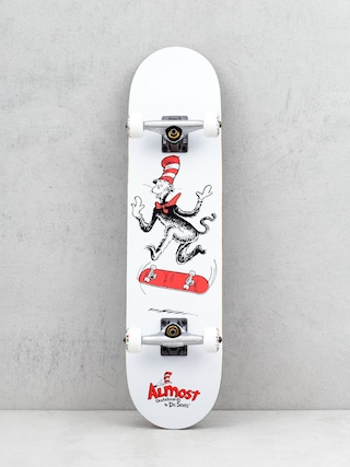 Skateboard Almost Cat Tre Premium (white)