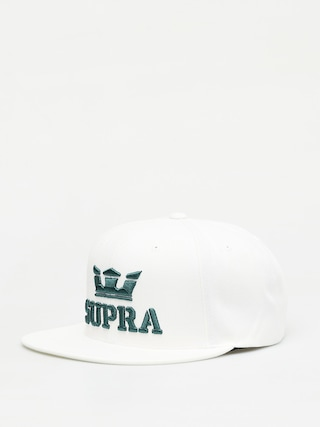 Ku0161iltovka  Supra Above II Snapback ZD (white/evergreen)