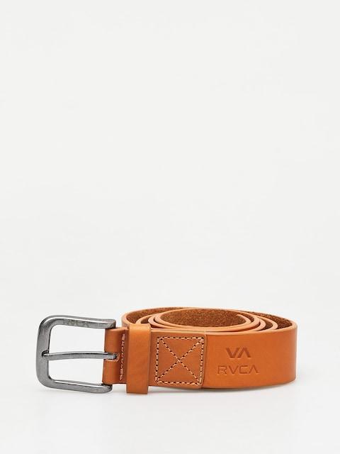 Pásek RVCA Truce Leather (tan)