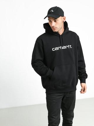 Mikina s kapucu00ed Carhartt WIP Carhartt HD (black/white)