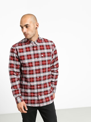 Kou0161ile Carhartt WIP Linville (linville check cardinal/wax)