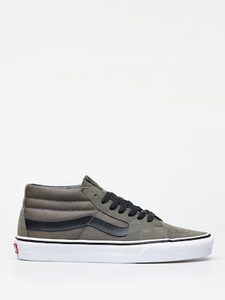 Boty Vans Sk8 Mid (grape leaf/true white)