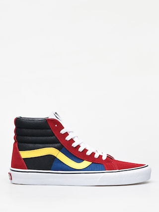 Boty Vans Sk8 Hi Reissue (otw rally/chilli pepper/true white)