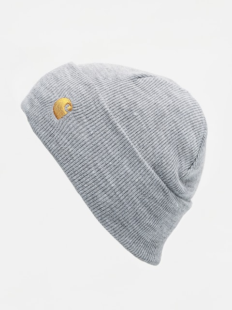 Čepice Carhartt WIP Chase (grey heather/gold)