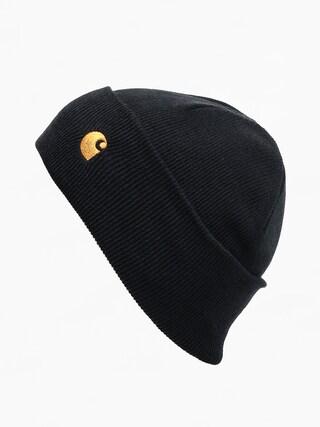 Čepice Carhartt WIP Chase (black/gold)