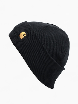 u010cepice Carhartt WIP Chase (black/gold)