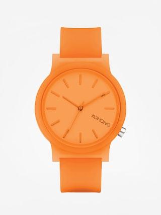Hodinky Komono Mono (neon orange glow)