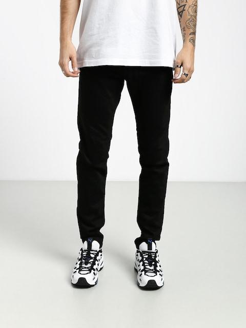 Kalhoty Carhartt WIP Coast (black rinsed)