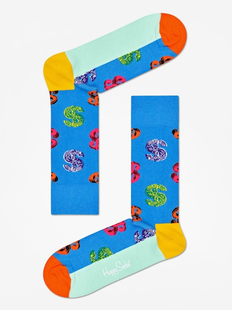 Ponožky Happy Socks Andy Warhol Dolar (blue)