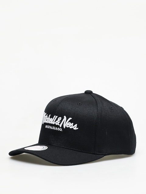 Kšiltovka  Mitchell & Ness Script High Crown 110 ZD (black)