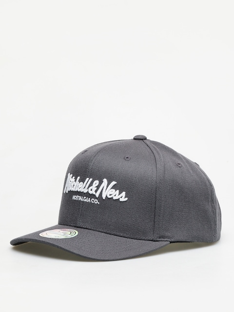 Kšiltovka  Mitchell & Ness Script High Crown 110 ZD (charcoal)