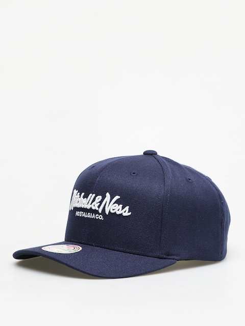 Kšiltovka  Mitchell & Ness Script High Crown 110 ZD (navy)