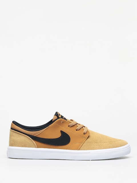 Boty Nike SB Solarsoft Portmore II (wheat/black white)
