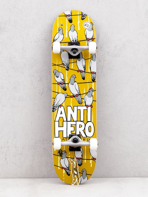 Skateboard Antihero On A Wire (mustard)