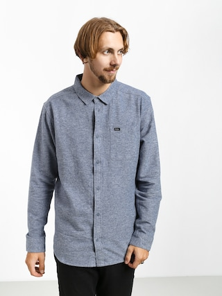 Kou0161ile RVCA Blackand Flannel L (china blue)