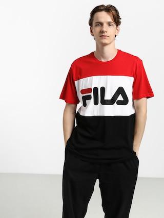 Tričko Fila Day (true red/black/bright white)