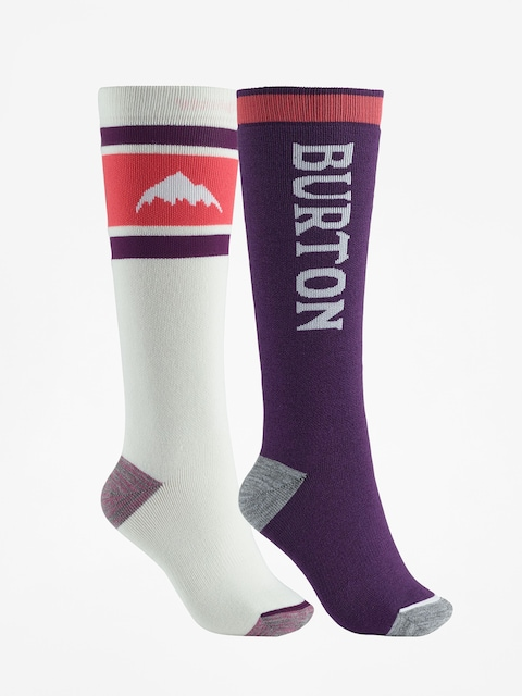 Ponožky Burton Weekend Midweight 2Pk Wmn (stout white)